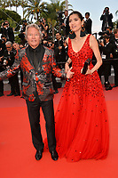 Blanca Blanco &amp; John Savage at the gala screening for &quot;Wild Pear Tree&quot; at the 71st Festival de Cannes, Cannes, France 18 May 2018<br /> Picture: Paul Smith/Featureflash/SilverHub 0208 004 5359 sales@silverhubmedia.com