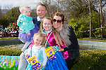 Enjoying the Easter Sunday family fun day in Ballygarry House Hotel in aid of  Barnardos Children's charity were Mia Leane, Taylor Kate Leane, Holly Leane, Claire Leane and Danny Leane Jr.