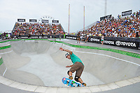 19 August, 2012:  Andy Macdonald competes in the Skateboard Bowl Finals at the Pantech Beach Championships in Ocean City, Md