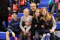 SPEEDSKATING: CALGARY: Olympic Oval, 01-12-2017, ISU World Cup, Tonny de Jong en family, ©photo Martin de Jong
