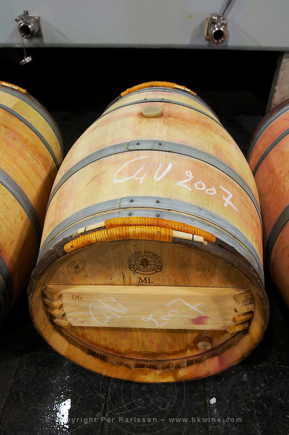 barrel clos des quatre vents margaux medoc bordeaux france