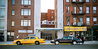 The new Aloft hotel in New York in Harlem is seen on Monday, January 16, 2012. The affordably priced hotel on Frederick Douglass Blvd. is the first new hotel in Harlem in several decades and is an offshoot of the W Hotel chain. Harlem has been undergoing considerable gentrification as real estate prices soar.  (© Richard B. Levine)