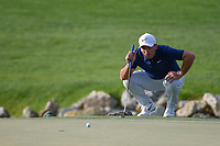 Francesco Molinari (ITA) lines up his putt on 13 during round 3 of the Arnold Palmer Invitational at Bay Hill Golf Club, Bay Hill, Florida. 3/9/2019.<br /> Picture: Golffile | Ken Murray<br /> <br /> <br /> All photo usage must carry mandatory copyright credit (&copy; Golffile | Ken Murray)