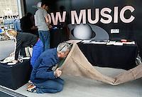 Nederland Eindhoven 2016 .DDW. Dutch Design Week. Strijp-S. Music Lab. Bellyhorn van Diannne Verdonk . Foto Berlinda van Dam / Hollandse Hoogte