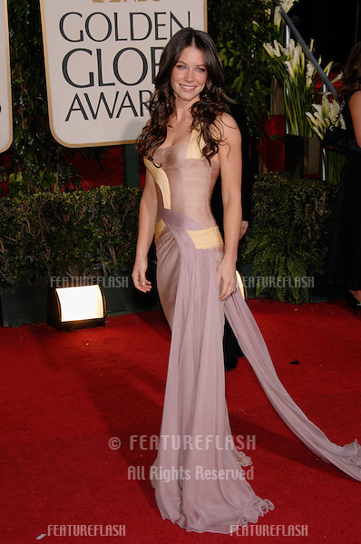 EVANGELINE LILLY at the 64th Annual Golden Globe Awards at the Beverly Hilton Hotel..January 15, 2007 Beverly Hills, CA.Picture: Paul Smith / Featureflash