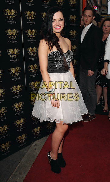 Tich<br /> Lipsy VIP Fashion Awards at DSTRKT, London, England.<br /> May 29th 2013<br /> full length black strapless top white tulle skirt <br /> CAP/ROS<br /> &copy;Steve Ross/Capital Pictures