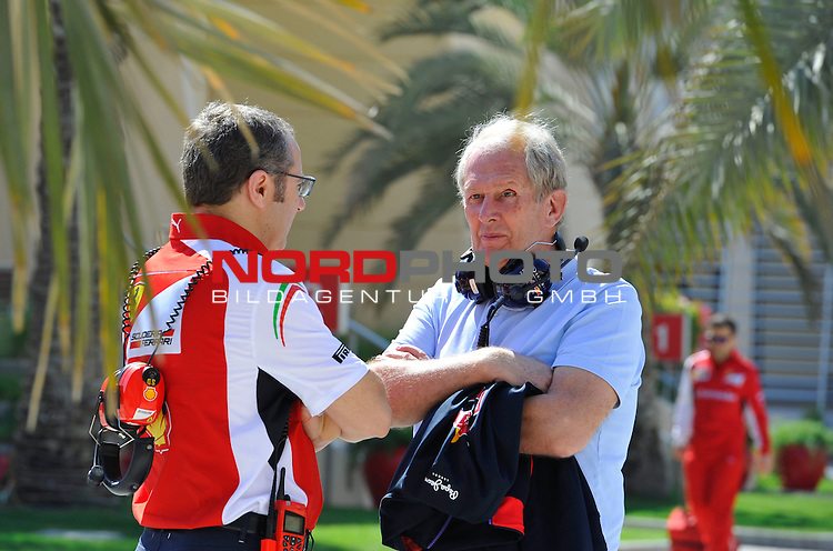 Stefano Domenicali (ITA), Scuderia Ferrari, Sporting Director - Helmut Marko (AUT), Red Bull Racing, Red Bull Advisor<br />  Foto &copy; nph / Mathis