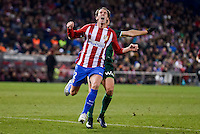 Atletico de Madrid's Diego Godín during La Liga match between Atletico de Madrid and Real Betis at Vicente Calderon Stadium in Madrid, Spain. January 14, 2017. (ALTERPHOTOS/BorjaB.Hojas) /NORTEPHOTO.COM