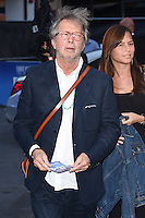 "Eric Clapton<br /> at the Special Screening of The Beatles Eight Days A Week: The Touring Years"" at the Odeon Leicester Square, London.<br /> <br /> <br /> ©Ash Knotek  D3154  15/09/2016"