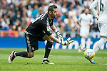 Real Madrid's Kiko Casilla during La Liga match. April 09, 2016. (ALTERPHOTOS/Borja B.Hojas)