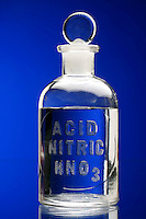 NITRIC ACID IN REAGENT BOTTLE<br />