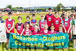 Boherbee-Cloghers  athletes who competed  at the Kerry County Community Games finals in Castleisland on Saturday