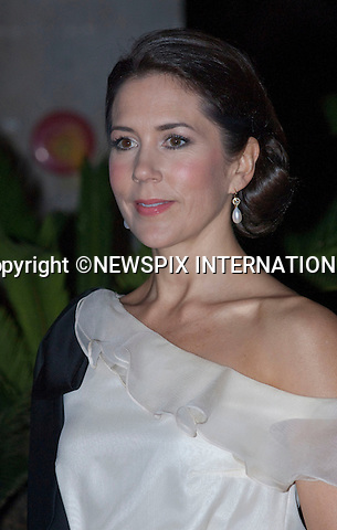"""CROWN PRINCESS MARY.Return Banquet hosted by Queen Margrethe and Prince Henrik for the President Nguyen Minh Triet of Vietnam  and First Lady Tran Thi Kim Chi,The Temple of Literature, Hanoi_3/11/2009.The Danish Royal Family are on a five day State Visit to Vietnam..Mandatory Photo Credit: ©Dias/Newspix International..**ALL FEES PAYABLE TO: """"NEWSPIX INTERNATIONAL""""**..PHOTO CREDIT MANDATORY!!: NEWSPIX INTERNATIONAL(Failure to credit will incur a surcharge of 100% of reproduction fees)..IMMEDIATE CONFIRMATION OF USAGE REQUIRED:.Newspix International, 31 Chinnery Hill, Bishop's Stortford, ENGLAND CM23 3PS.Tel:+441279 324672  ; Fax: +441279656877.Mobile:  0777568 1153.e-mail: info@newspixinternational.co.uk"""