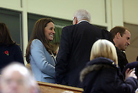 Pictured: Kate Middleton on the stand. Saturday 08 November 2014<br />
