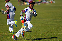 Action from the Junior Wellington Year Four cricket match between the Eastern Suburbs Moreporks and the Eastern Suburbs Wekas at Kilbirnie Park in Wellington, New Zealand on Saturday, 11 November 2017. Photo: Dave Lintott / lintottphoto.co.nz