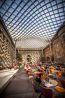 Kogod Courtyard National Portrait Gallery - Smithsonian American Art Museum Washington DC Architecture