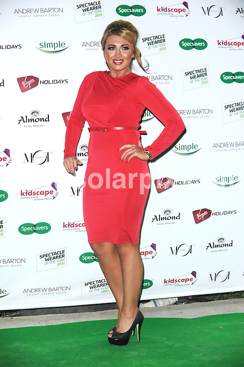 **ALL ROUND PICTURES FROM SOLARPIX.COM**                                             **WORLDWIDE SYNDICATION RIGHTS**                                                                                  Celebs arrive at The Spectacle Wearer of the Year 2011 grand final at Boiler House at Battersea Power Station on Tuesday 15, 2011 in London                                                                            This pic:    Lauren Goodger                                                                                       JOB REF:     14192   LNJ       DATE:   15.11.11                                                         **MUST CREDIT SOLARPIX.COM OR DOUBLE FEE WILL BE CHARGED**                                                                      **MUST AGREE FEE BEFORE ONLINE USAGE**                               **CALL US ON: +34 952 811 768 or LOW RATE FROM UK 0844 617 7637**