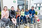 Taking an Ice Cream break at K Fest on Saturday<br /> L-R SinÈad Sugrue, Seamus Griffin, Cathal Sugrue, Dara Sugrue, Gearoid Sugrue, George Sugrue & Tilly the Dog.