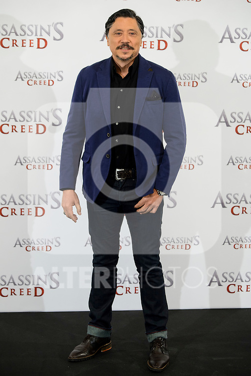 "Carlos Bardem during the presentation of the film ""Assassin's Creed"" in Madrid, Spain. December 07, 2016. (ALTERPHOTOS/BorjaB.Hojas)"