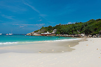Empty beautiful beach of Raya island in Andaman sea, Thailand