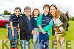 The O'Connor family from Abbeydorney at the Abbeydorney Vintage Family fun day on Sunday. <br /> Thomas, Peter, Sevan, Daniel and Corinne O'Connor.