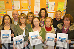HANDBOOK: Members of the new Cromane school parents association launching their new handbook for parents at the school on Wednesday last, front l-r: Jacinta O'Shea, Anne Foley, Emir Douieu (chairperson),  Mary Roche, Pauline O'Connor. Back l-r: Seamus O'Shaughnessy (Principal), Marian Cronin, Kym O'Mahony, Sean Roche.   Copyright Kerry's Eye 2008