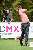 Rory McIlroy (IRL) watches his tee shot on 8 during round 3 of the World Golf Championships, Mexico, Club De Golf Chapultepec, Mexico City, Mexico. 3/4/2017.<br /> Picture: Golffile | Ken Murray<br /> <br /> <br /> All photo usage must carry mandatory copyright credit (&copy; Golffile | Ken Murray)