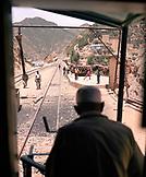 ERITREA, Shegrine Valley, the train that runs between the mountain town of Asmara to the Port town of Massawa
