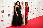 Stooshe attends to the photocall of the Global Gift Gala at Cibeles Palace in Madrid. April 02, 2016. (ALTERPHOTOS/Borja B.Hojas)