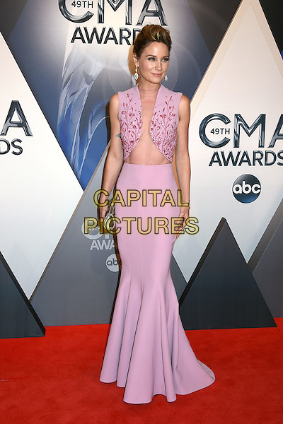4 November 2015 - Nashville, Tennessee - Jennifer Nettles, Sugarland. 49th CMA Awards, Country Music's Biggest Night, held at Bridgestone Arena. <br /> CAP/ADM/LF<br /> &copy;LF/ADM/Capital Pictures
