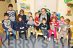 Seeing double in Buddies Childcare, Ballyduff last Thursday where 6 sets of twins attend, pictured here with Mary Kennelly are Paddy and John Foley, Rebbeca and Chloe Mannix, Jordan and Shane Doherty, Aaron and Sean Ross, Taylor and Holly McCarthy, Céide and Kallum Hussey, missing from photo was Suzanne and Lillian Marzec.