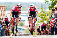 Picture by Alex Whitehead/SWpix.com - 13/05/2018 - British Cycling - HSBC UK Spring Cup Series - Lincoln Grand Prix - Joey Walker and x of Team Wiggins.