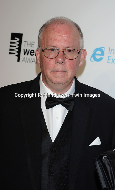 Steve Wilhite, Webby LIfetime Ashievement Award for .GIF creatir, attends the 17th Annual Webby Awards on May 21, 2013 at Cipriani Wall Street in New York City.
