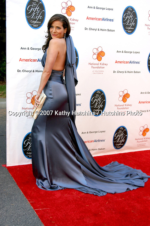 Constance Marie.The Gift of Life Celebration 2007.National Kidney Foundation Benefit.Warner Brothers Studio Lot.Burbank, California USA.April 29, 2007 .©2007 Kathy Hutchins / Hutchins Photo....