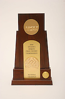 4 September 2007: A photograph of the women's NCAA national championship trophy for cross country.