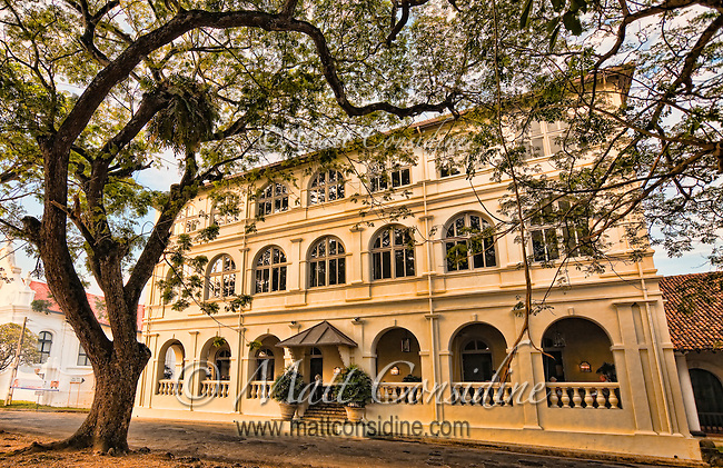 This beautifully restored hotel is a great place to stay or visit when in Galle.<br /> (Photo by Matt Considine - Images of Asia Collection)