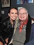 Loretta Delaney and Reg Tester at Seán Tester's show in the Droichead Arts Centre. Photo:Colin Bell/pressphotos.ie
