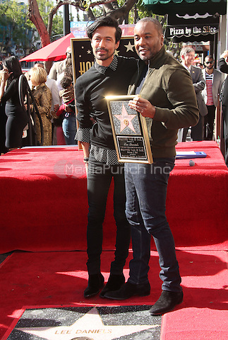 "Hollywood, CA - DECEMBER 02: Jahil Fisher, Lee Daniels, At Lee Daniels Honored With Star On The Hollywood Walk Of Fame"" At Pacific Theatres at the Hollywood Walk Of Fame, California on December 02, 2016. Credit: Faye Sadou/MediaPunch"