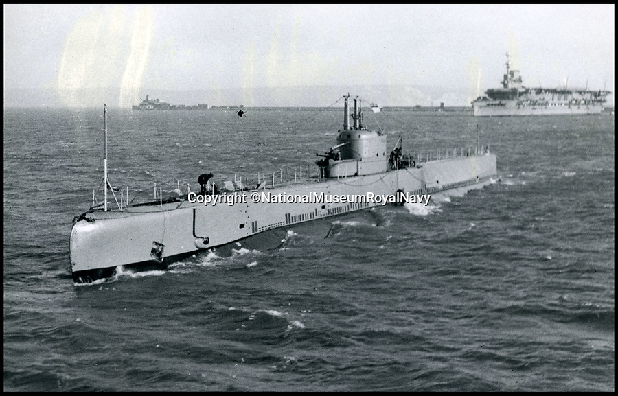 BNPS.co.uk (01202 558833)Pic: NationalMuseumRoyalNavy/BNPS<br /> <br /> HMS Narwhal.<br /> <br /> The icy tomb of 58 British submariners lost in WW2 has finally been rediscovered by accident in the North sea.<br /> <br /> HMS Narwhal departed it's base in Blyth, Northumberland on July 22nd, 1940 tasked with the job of laying mines off German-occupied Norway before being intercepted on-route, killing everyone on board.<br /> <br /> Now 77 years later, the wreck appears to have been discovered by a team of Polish deep-sea explorers, who were carrying out a search for one of their nation's lost submarines, the ORP Eagle.<br /> <br /> The largely intact vessel is lying 140 miles off the coast of Scotland in waters nearly 100 metres deep.