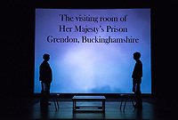 Starring: Chris Wilbur '21; Carey Cannata '21<br /> Photo from the dress rehearsal of the Occidental College Department of Theater presentation of Country Music, written by Simon Stephens and directed by John Bouchard, Nov. 29, 2017 in Keck Theater. The action takes place in Thurrock, Essex; Her Majesty's Prison, Grendon, Buckinghamshire; and Durham Road, Sunderland, between 1983 and 2004.<br /> (Photo by Marc Campos, Occidental College Photographer)