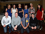 All the gang from Bank of Ireland Dundalk at David Corr's 30th birthday in the Westcourt hotel. Photo:Colin Bell/pressphotos.ie