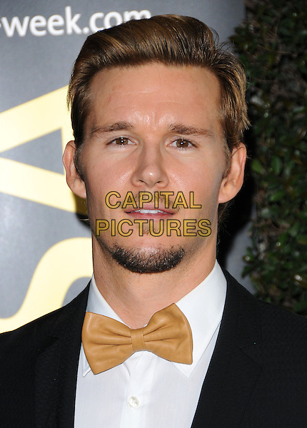 RYAN KWANTEN .at G'Day USA LA Black Tie Gala held at The Hollywood Palladium in Hollywood, California, USA, January 22nd, 2011..portrait headshot goatee facial hair beard black suit tie bow tuxedo gold .CAP/RKE/DVS.©DVS/RockinExposures/Capital Pictures.