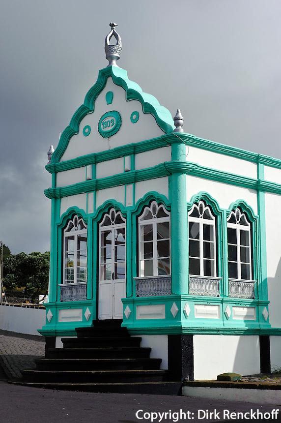 Heiliggeisttempel (Imperio)  in Porto Martins auf der Insel Terceira, Azoren, Portugal