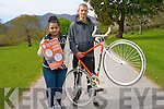 Families are invited to come along and have a fun day out at a family cycle to promote the round Ireland Cycle Against Suicide organised by the KDYS who are partnered with the national Cycle Against Suicide initiative. <br /> L-R Emilie Ctokarova and Ben Krol.