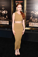 HOLLYWOOD, CA - AUGUST 07:  Actress Madelaine Petsch attends the premiere of New Line Cinema's 'Annabelle: Creation' at TCL Chinese Theatre IMAX on August 07, 2017 in Los Angeles, California.<br /> CAP/ROT/TM<br /> &copy;TM/ROT/Capital Pictures
