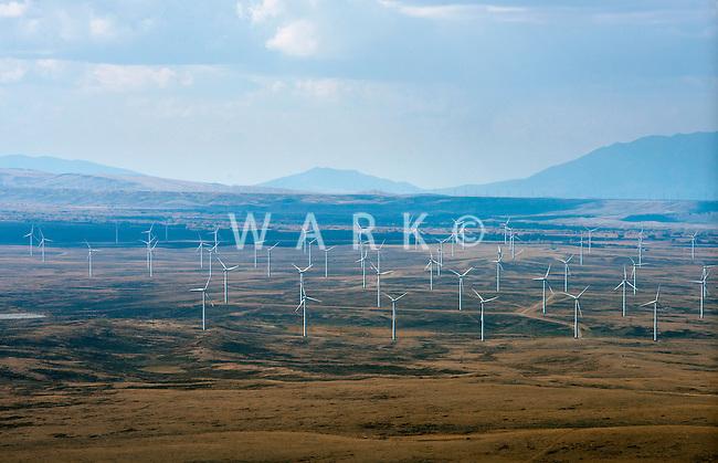 Wind Farm near Laramie, Wyoming.  Sept 2012