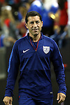 22 July 2015: U.S. assistant coach Tab Ramos (USA). The United States Men's National Team played the Jamaica Men's National Team at the Georgia Dome in Atlanta, Georgia in a 2015 CONCACAF Gold Cup semifinal match. Jamaica won the game 2-1.