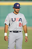 Pedro Alvarez #24 of Team USA at the USA Baseball National Training Center, September 4, 2009 in Cary, North Carolina.  (Photo by Brian Westerholt / Four Seam Images)