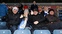 Blackburn Rovers Fans at the start of todays match<br /> <br /> Photographer Rachel Holborn/CameraSport<br /> <br /> The EFL Sky Bet League One - Blackburn Rovers v Shrewsbury Town - Saturday 13th January 2018 - Ewood Park - Blackburn<br /> <br /> World Copyright &copy; 2018 CameraSport. All rights reserved. 43 Linden Ave. Countesthorpe. Leicester. England. LE8 5PG - Tel: +44 (0) 116 277 4147 - admin@camerasport.com - www.camerasport.com