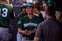 Daytona Tortugas Stuart Fairchild (4) during a Florida State League game against the Tampa Tarpons on May 17, 2019 at George M. Steinbrenner Field in Tampa, Florida.  Daytona defeated Tampa 8-6.  (Mike Janes/Four Seam Images)